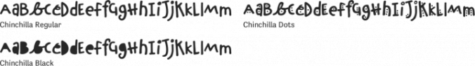 Chinchilla Font Preview