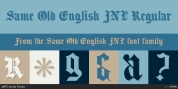 Same Old English JNL font download