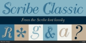 Scribe font download