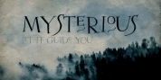 Mysterious font download