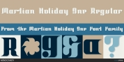 Martian Holiday font download