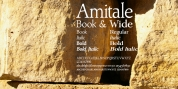 Amitale font download