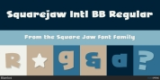 Square Jaw font download