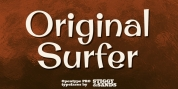 Original Surfer Pro font download