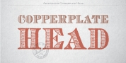 Archive Copperplate Head font download