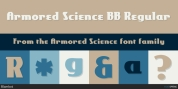 Armored Science font download
