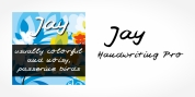 Jay Handwriting Pro font download