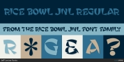 Rice Bowl JNL font download