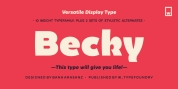 Becky font download