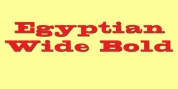 Egyptian Wide font download