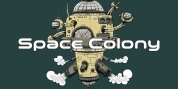 Space Colony font download