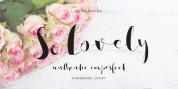 So Lovely font download