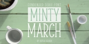 Minty March font download