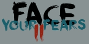 Face Your Fears II font download