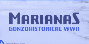 Marianas font download
