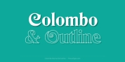 Colombo font download