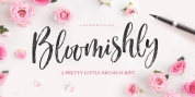 Bloomishly font download