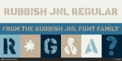 Rubbish JNL font download