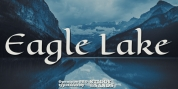 Eagle Lake Pro font download
