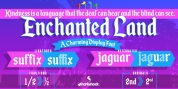 Enchanted Land font download