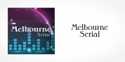 Melbourne Serial font download