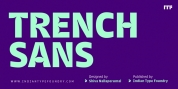 Trench Sans font download