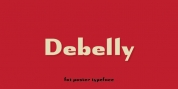 Debelly font download