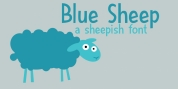 Blue Sheep font download