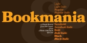 Bookmania font download