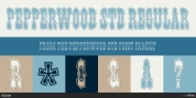 Pepperwood Std font download