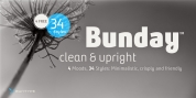 Bunday Clean font download
