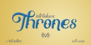 Thrones - Classic Typeface font download