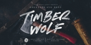 Timber Wolf font download