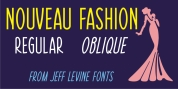 Nouveau Fashion JNL font download