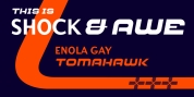 Shock and Awe font download