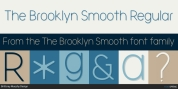 The Brooklyn Smooth font download