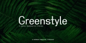 Greenstyle font download