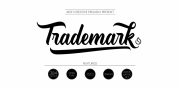 Trademark font download