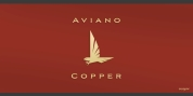Aviano Copper font download