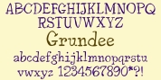 Grundee font download