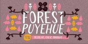 Forest Puyehue font download