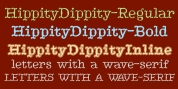 HippityDippity font download