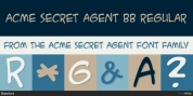 ACME Secret Agent font download