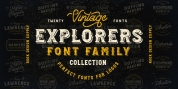 Explorers Font Collection font download