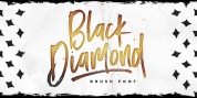 Black Diamond font download