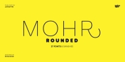 Mohr Rounded font download