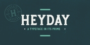 Heyday font download