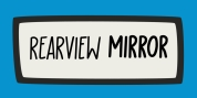 Rearview Mirror font download