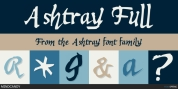 Ashtray font download