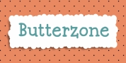 Butterzone font download